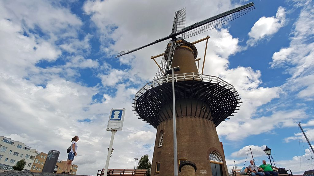 Windmühle in Delfshaven